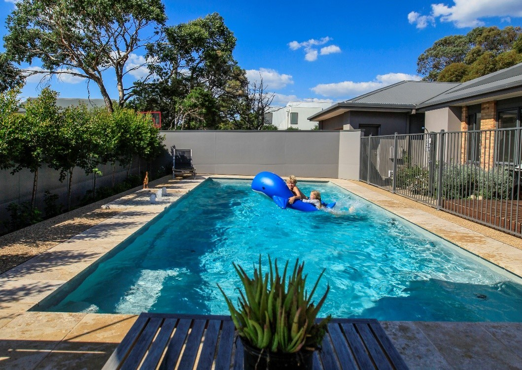 SPASA 2017 Awards Highly Commenced Best Residential Fibreglass Pool Over $60000