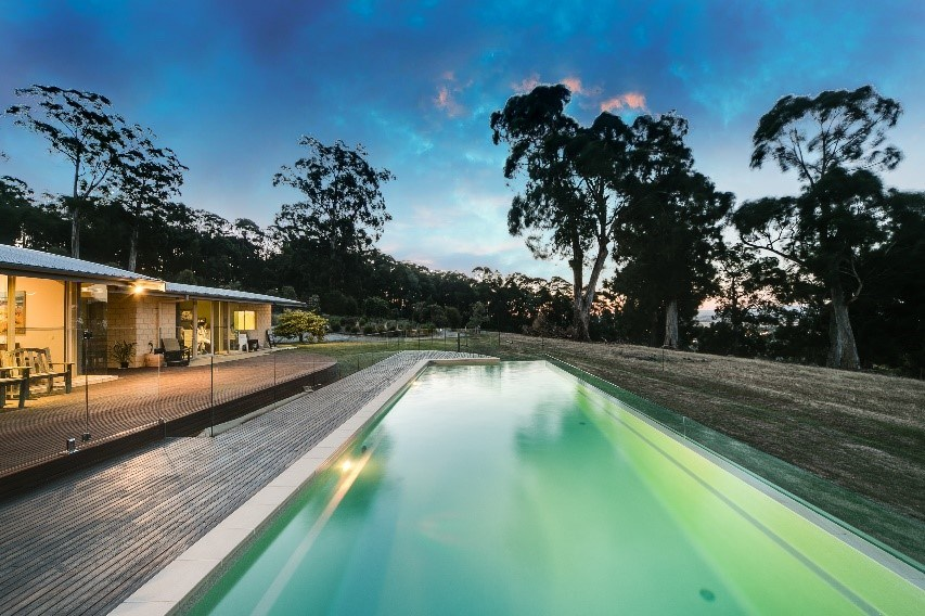 SPASA 2017 Awards Winner Best Residential Fibreglass Pool Over $60000