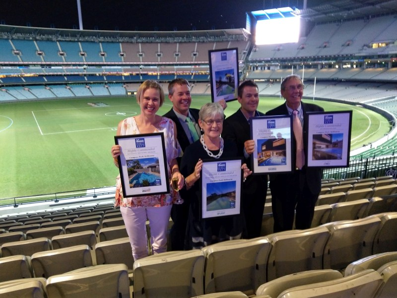 Compass Pools Melbourne SPASA 2017 Awards of Excellence 1