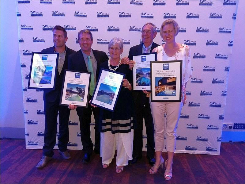 Compass Pools Melbourne SPASA 2017 Awards of Excellence 3