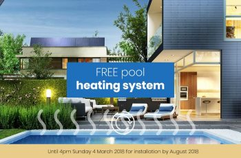 Receive Free Pool Heating System