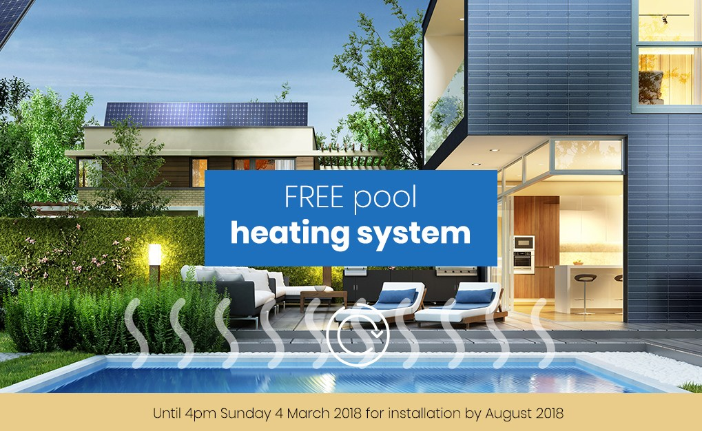 Elegant We Have A Pool Show Special For You: Order Your Pool By 4pm March 2018 For  Installation By August 2018 And Receive A FREE Heat Pump, Gas Heater Or  Solar ...